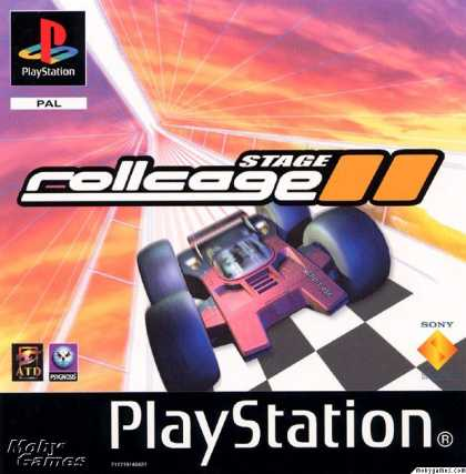 PlayStation Games - Rollcage Stage II