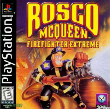 PlayStation Games - Rosco McQueen Firefighter Extreme