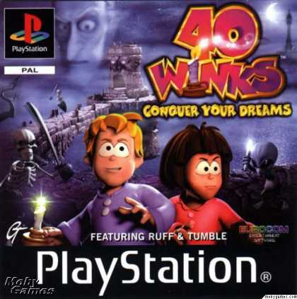 PlayStation Games - 40 Winks