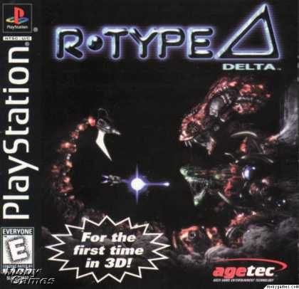 PlayStation Games - R-Type Delta