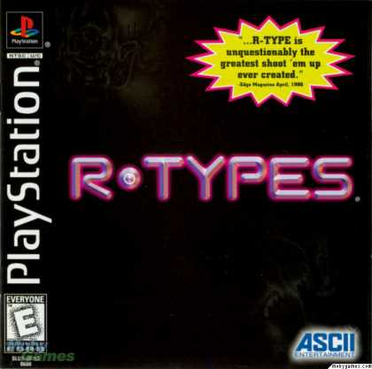 PlayStation Games - R-Types