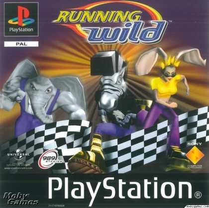 PlayStation Games - Running Wild