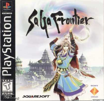 PlayStation Games - Saga Frontier