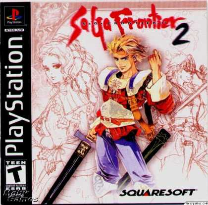 PlayStation Games - Saga Frontier 2