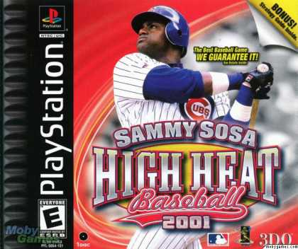 PlayStation Games - Sammy Sosa High Heat Baseball 2001