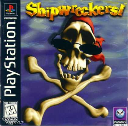 PlayStation Games - Shipwreckers!