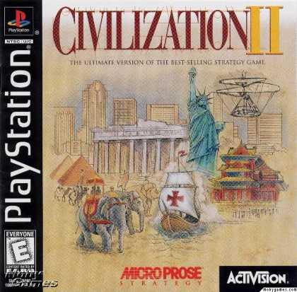 PlayStation Games - Sid Meier's Civilization II