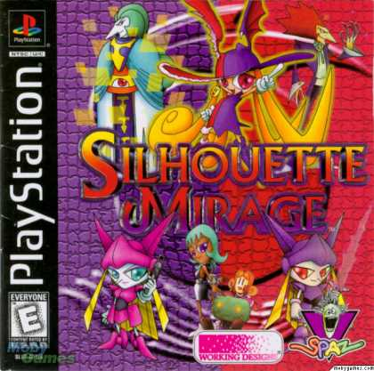 PlayStation Games - Silhouette Mirage