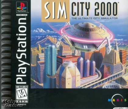 PlayStation Games - SimCity 2000