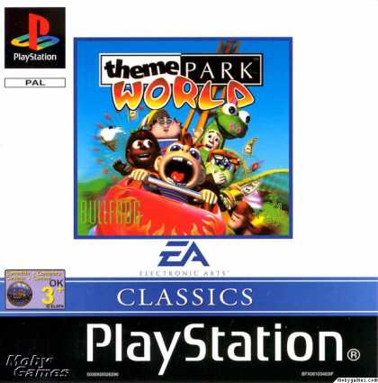 PlayStation Games - Sim Theme Park