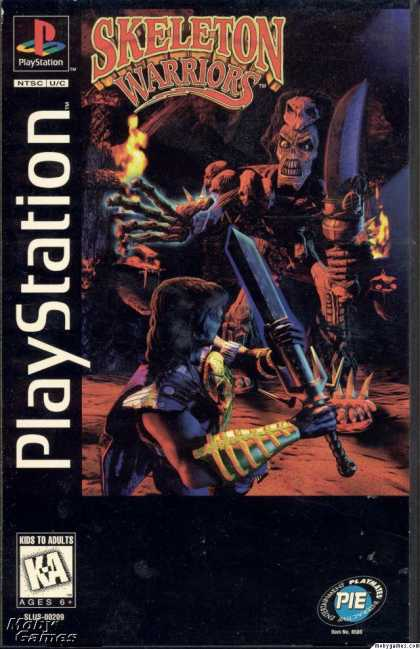 PlayStation Games - Skeleton Warriors