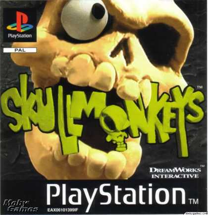 PlayStation Games - Skullmonkeys