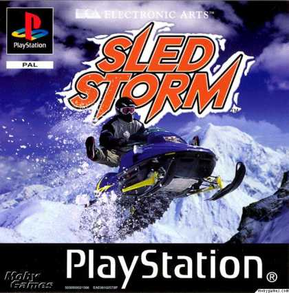PlayStation Games - Sled Storm