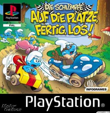 PlayStation Games - Smurf Racer