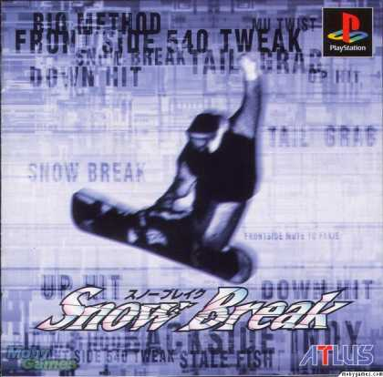 PlayStation Games - Snow Break
