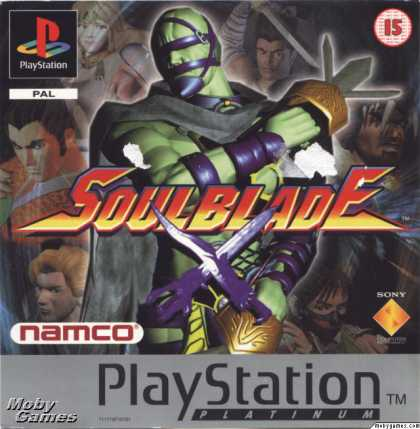 PlayStation Games - Soul Blade