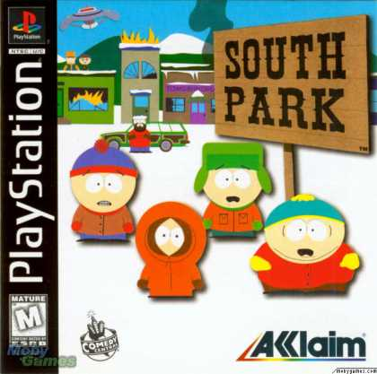 PlayStation Games - South Park
