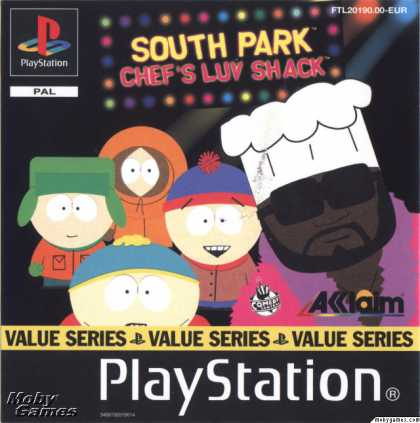PlayStation Games - South Park: Chef's Luv Shack