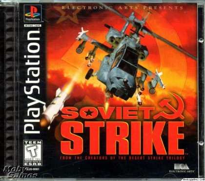 PlayStation Games - Soviet Strike