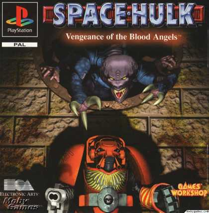 PlayStation Games - Space Hulk: Vengeance of the Blood Angels