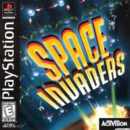 PlayStation Games - Space Invaders