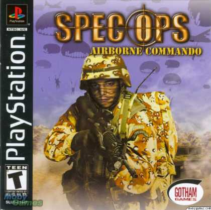PlayStation Games - Spec Ops: Airborne Commando