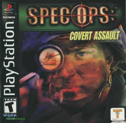 PlayStation Games - Spec Ops: Covert Assault