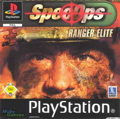 PlayStation Games - Spec Ops: Ranger Elite