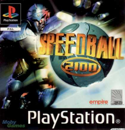 PlayStation Games - Speedball 2100