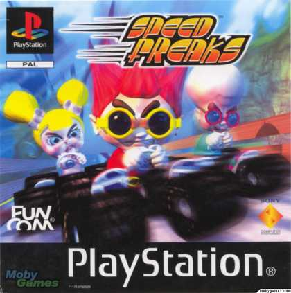 PlayStation Games - Speed Punks