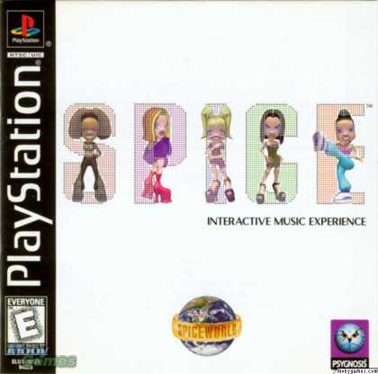 PlayStation Games - Spice World