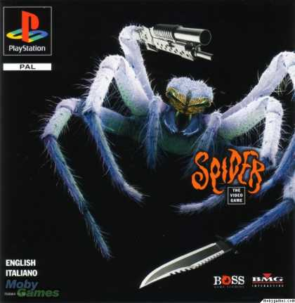 PlayStation Games - Spider