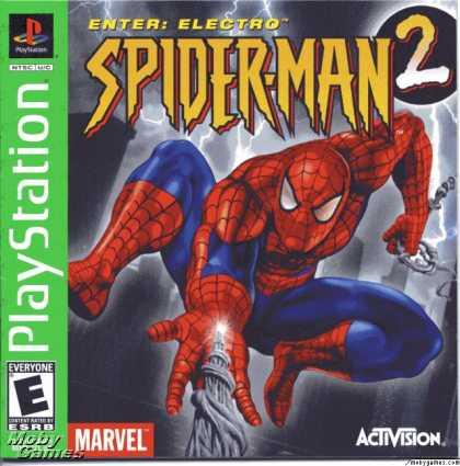 PlayStation Games - Spider-Man 2: Enter Electro
