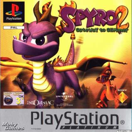 PlayStation Games - Spyro 2: Ripto's Rage