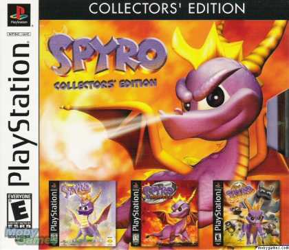 PlayStation Games - Spyro (Collector's Edition)