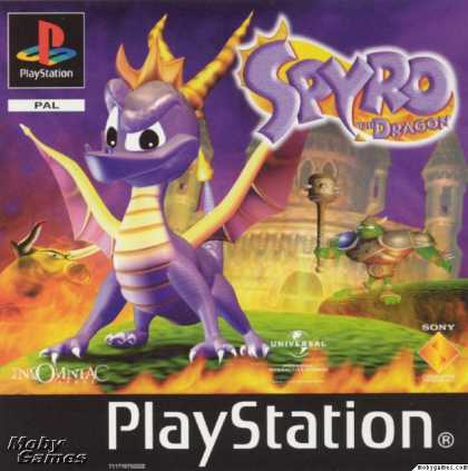 PlayStation Games - Spyro the Dragon