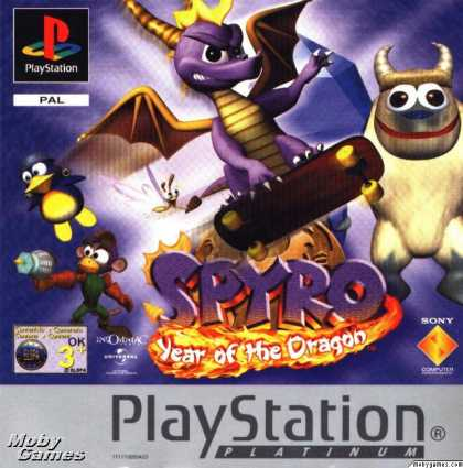 PlayStation Games - Spyro: Year of the Dragon