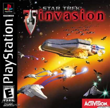 PlayStation Games - Star Trek: Invasion