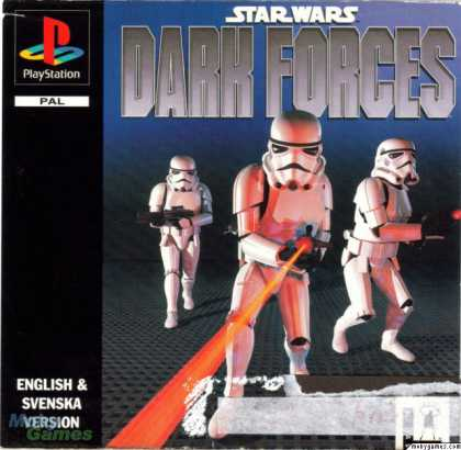 PlayStation Games - Star Wars: Dark Forces