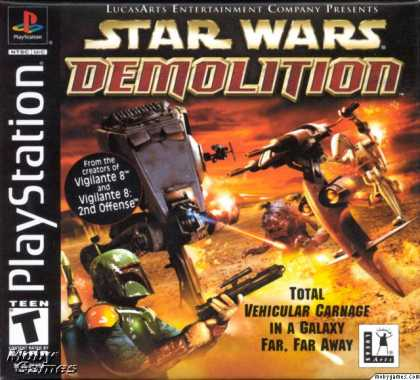 PlayStation Games - Star Wars: Demolition