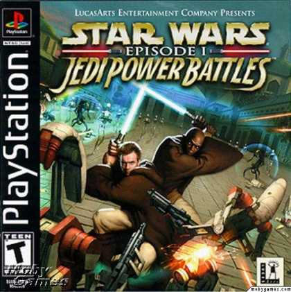 PlayStation Games - Star Wars: Episode I - Jedi Power Battles