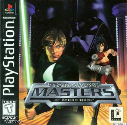 PlayStation Games - Star Wars: Masters of Teräs Käsi