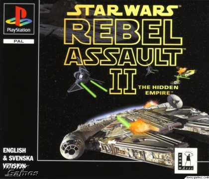 PlayStation Games - Star Wars: Rebel Assault II - The Hidden Empire