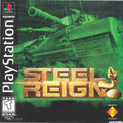 PlayStation Games - Steel Reign