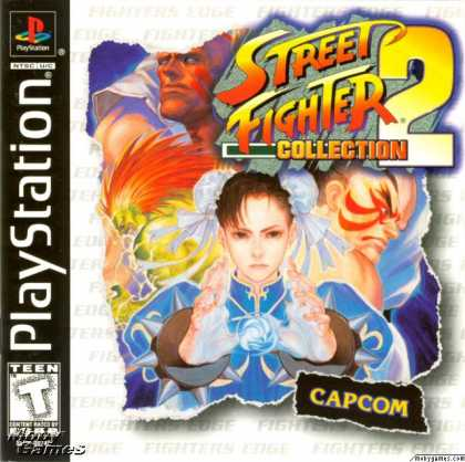 PlayStation Games - Street Fighter 2 Collection