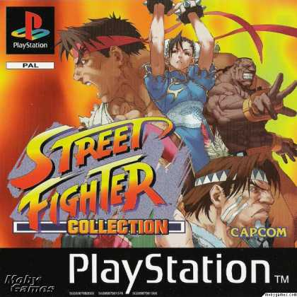 PlayStation Games - Street Fighter Collection
