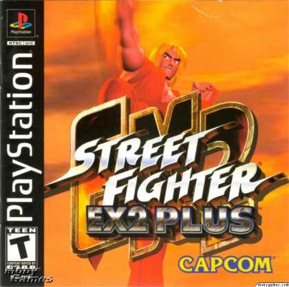 PlayStation Games - Street Fighter EX 2 Plus