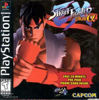 PlayStation Games - Street Fighter EX Plus Alpha