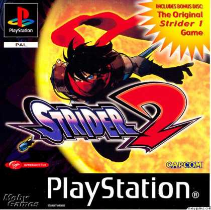 PlayStation Games - Strider 2