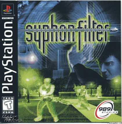 PlayStation Games - Syphon Filter